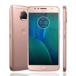 IMAGEM 2: SMARTPHONE MOTOROLA MOTO G5S PLUS OURO ROSE 32GB DUPLA CÂMERA 13MP
