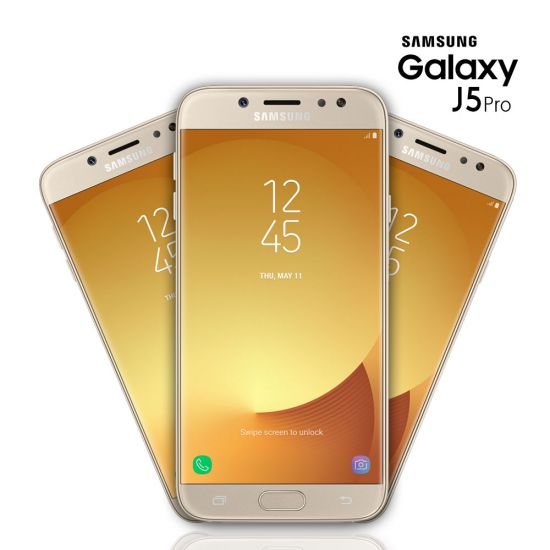 SMARTPHONE SAMSUNG GALAXY J5 PRO OCTA-CORE 32GB CÂMERA DE 13MP - DOURADO