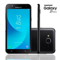 IMAGEM 2: SMARTPHONE SAMSUNG GALAXY J7 NEO 16GB DE MEMÓRIA CÂMERA DE 13MP - PRETO