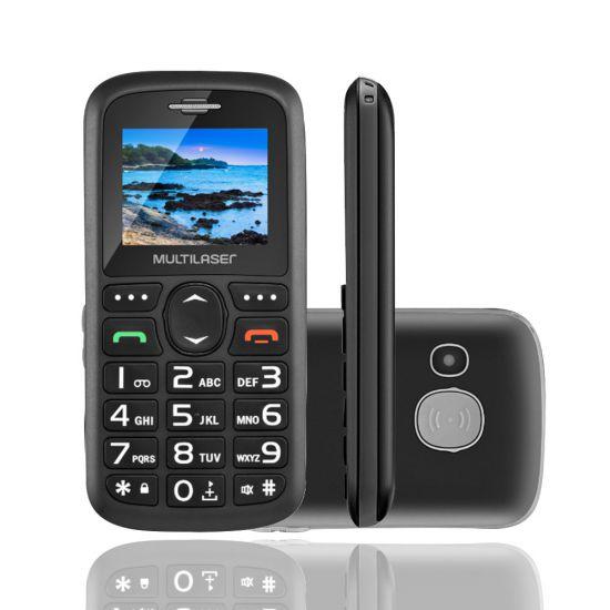 CELULAR MULTILASER VITA P9048 DUAL CHIP USB BLUETOOTH - PRETO