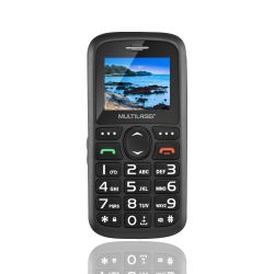 IMAGEM 2: CELULAR MULTILASER VITA P9048 DUAL CHIP USB BLUETOOTH - PRETO