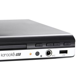 IMAGEM 2: DVD KARAOKÊ MONDIAL D-15 COM CONTROLE REMOTO E USB - PRETO