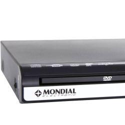 IMAGEM 3: DVD KARAOKÊ MONDIAL D-15 COM CONTROLE REMOTO E USB - PRETO
