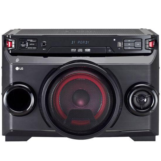 MINI SYSTEM LG X BOOM FESTA OM4560 BLUETOOTH 200W RMS BIVOLT - PRETO