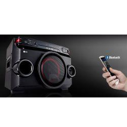 IMAGEM 3: MINI SYSTEM LG X BOOM FESTA OM4560 BLUETOOTH 200W RMS BIVOLT - PRETO