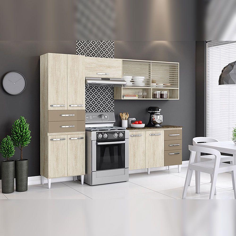 Gavetas Para Cozinha Cozinha Completa Em Madeira Com Balco Aramveis